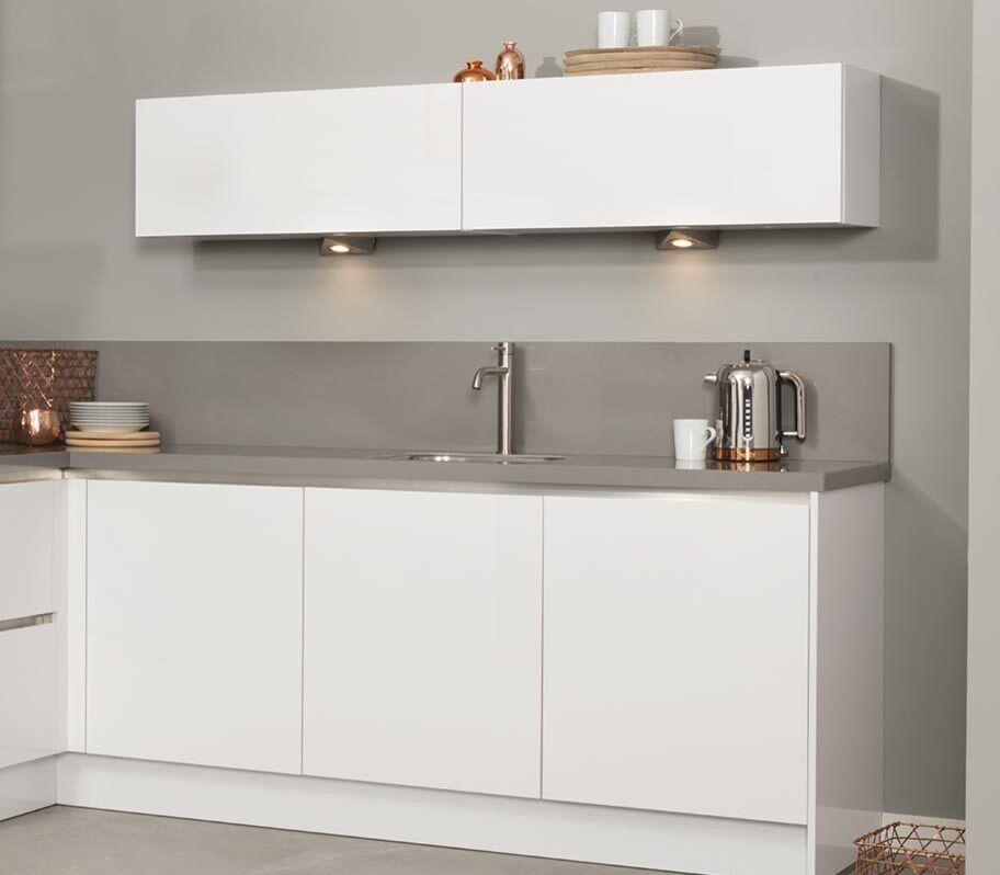 Modern keukenblok