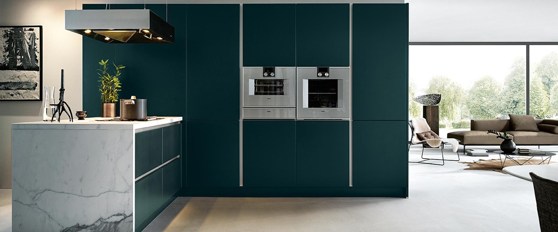keuken jaguar groen
