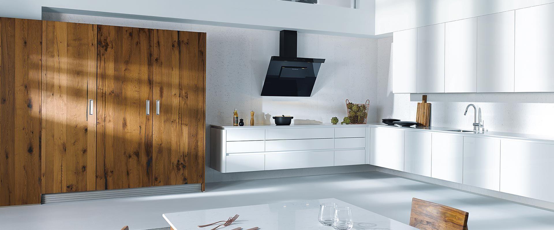 witte hoogglans keuken CVT