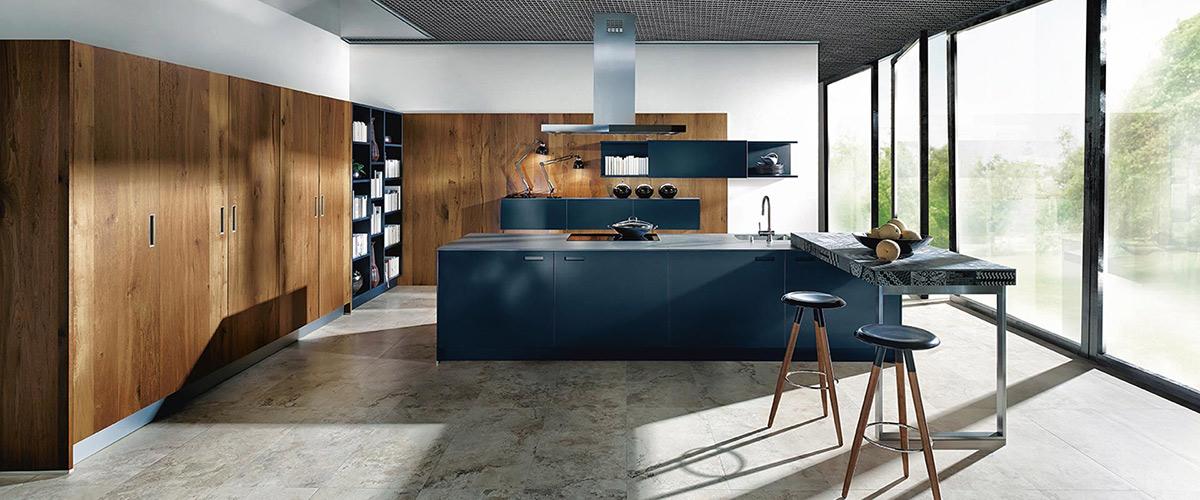 Keuken kleuren mat indigoblauw